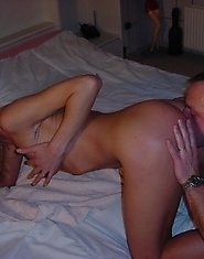 Mature couple fucking in front of a camera