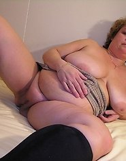 Chubby mature couple doing the nasty