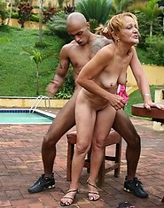 This mature slut loves al those black cocks