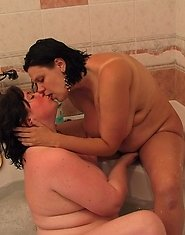 Mature lesbians taking their lust to a new level