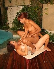 good old fashioned girl on girl pissing action